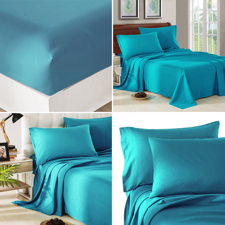 Sample welcomed Copper infused bamboo cotton bed sheets for home