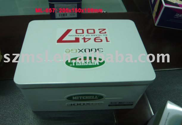 Right-Angled Metal Tin Box, Metal Box in Straight-Corner
