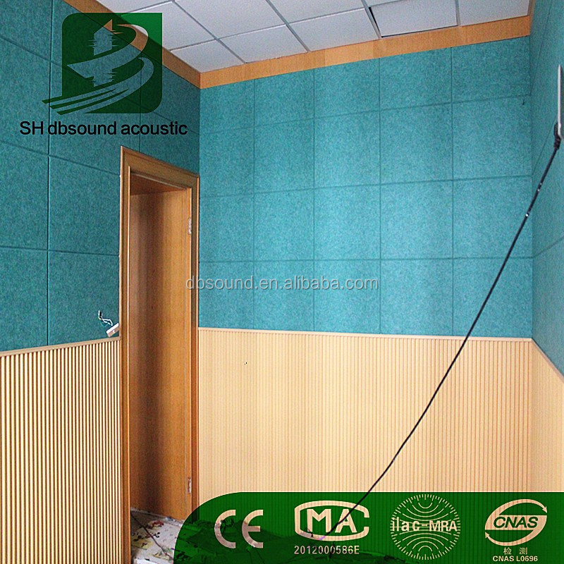 Fabric clothing Decorative Acoustic Board for listening testing room