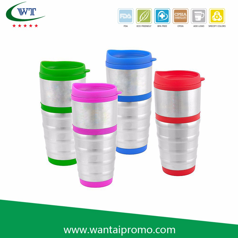 High Demand Import Products Advertising Cola Shaped Flip Top For Car Travel Coffee Mugs Tumblers