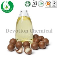 Macadamia Oil Treatment for Hair Care,Macadamia Nut Oil Cold Pressed,Home Use Argan Oil In Glass Bottle