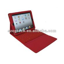 For iPad 3 Bluetooth Keyboard /2012 Hot Selling Cheap iPad 2 Keyboard Case/iPad 3 Cover Keyboard