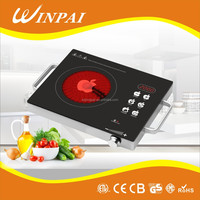 ceramic plate multi induction infrared cooker