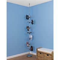 Revolution metal Shoes Tree Holds with rack Chrome Organization Storage