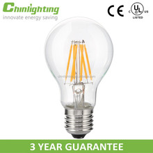 Bulb light LED A19 A60 6w 7w 700LM e27 2700k dimmable led light bulb in stock