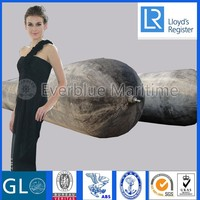 Superior Innovative Marine rubber airbag for ship launching/lifting/salvage comply with ISO 14409