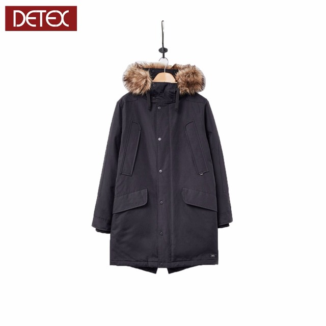 Hot classic mens long winter parka