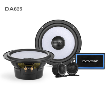 "OEM Chinese Factory 6.5"" 2-way High Cost Performance Car Audio Sound System Speaker Component Kits"