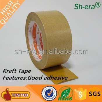 high quality printing Logo kraft paper Gummed Tape for clothes