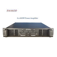 new 4 ch series PA4600 made in china power amplifier pro stereo audio series professional power amplifier with 4*600w