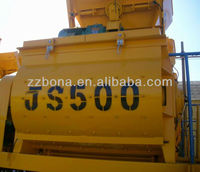 2016 Chinese concrete mixer in machinery for sale JS500
