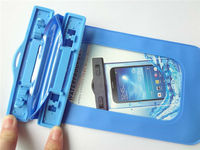 For swimming PVC waterproof case for iphone5,5s,5G with lanyard