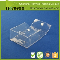 Button Closure Sealing & Handle and Embossing Surface Handling Cosmetic pouches