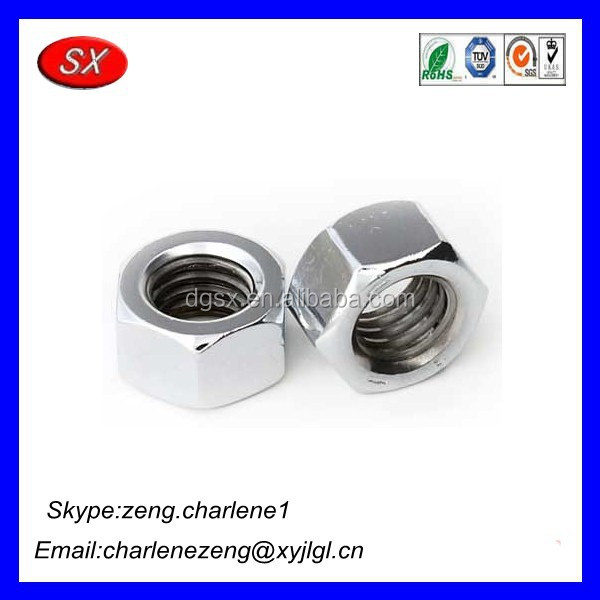 OEM hardware products manufacturer Industrial Engineering Components/Stainless Steel Hex Nuts