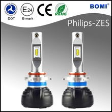 New design Auto LED headlight 9006 6000 lumen led headlamp suzuki swift headlight with e-mark DOT