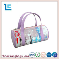 Zhaoxiang 2016 fashion style cylindrical pu ladies tote bag
