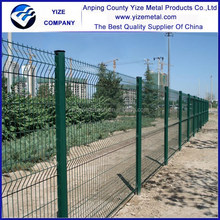 Net Zone Bed Garden Steel Fence/powder coated green 4mm wire 50x200 mesh curves garden zone fence