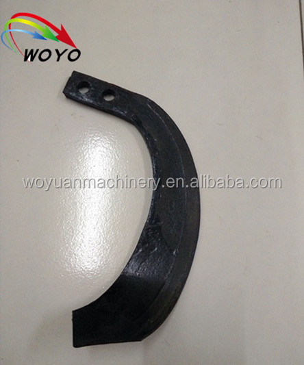 Reliable quality farm power tiller blade /colter for india market