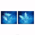 Digital Printing Butterfly Picture Canvas Prints Romantic Room Decor HD Picture Canvas Printing Bedroom Wall Decor