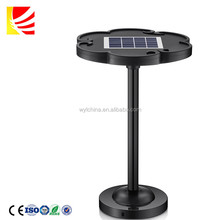 Latest Products Garden Lamp Outdoor 1W RBG LED Solar Gate Light