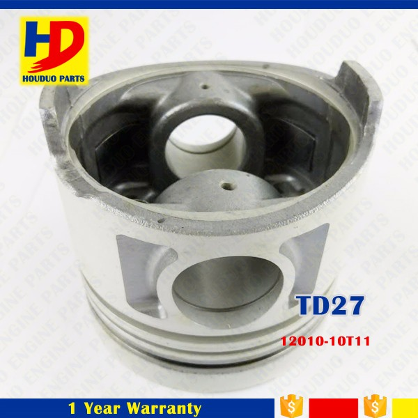 TD27 Engine Piston With Alfin For Nissan Engine 12010-10T11 12011-43G01