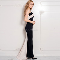 Sexy lady one shoulder dresses arabic evening dress