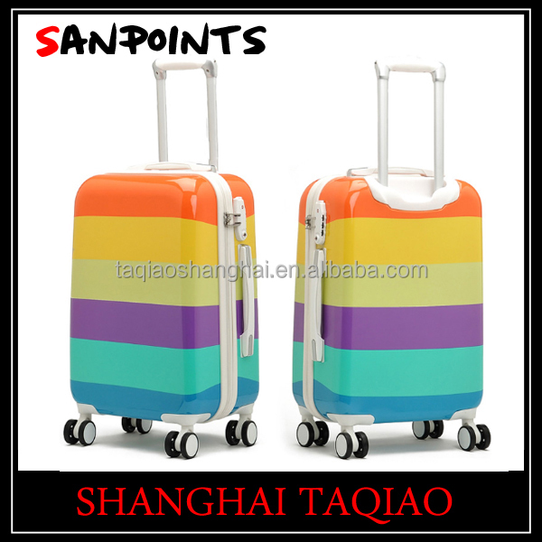 hot sale abs pc trolley suitcase