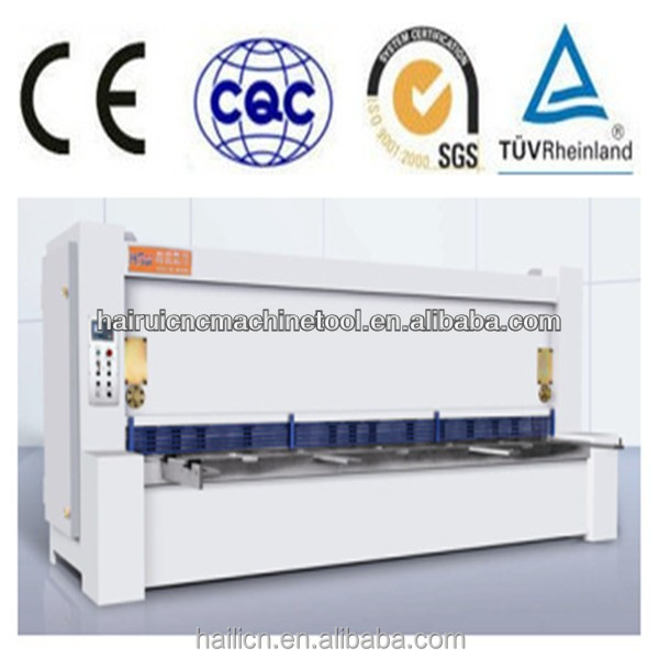 2014 new QC12Y 16x3200 sliding table saw guillotine cutting machine shearing machine manufacturer, nc cutting machine