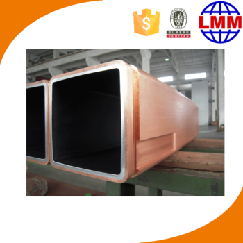 billet and slab casting moulds and china copper mould tube factory