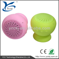 2013 Mini Silicone Bluetooth Speaker With Factory Price