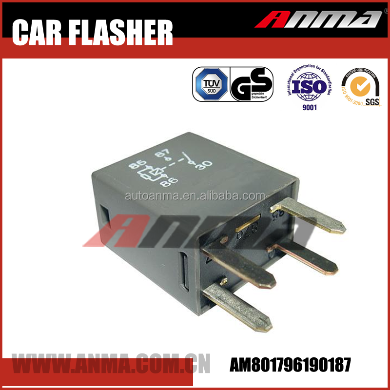 Factory price auto flasher ,oem 12v flasher relay 96190187