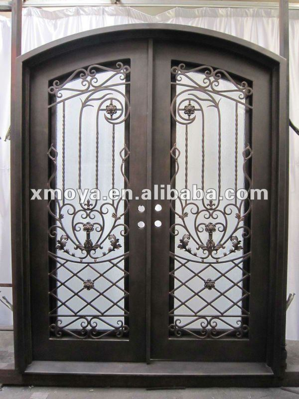 American decorative security screen door grill design