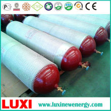 Reusable steel tube Type 2 gas cylinder cng cylinders for industrial use