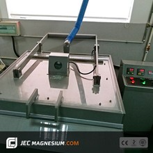 Chemical metal etching machine for magnesium plate