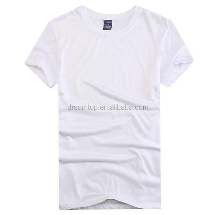 Wholesale custom blank white t shirt below $1