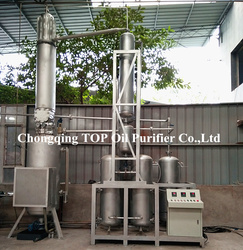 Energy Saving Pyrolysis Oil Distillation Machine/Motor Oil Distillation/Used Engine Oil Cleaning System