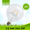 110lm/w Ra>80 led lighting energy saving G125 LED Filament Bulb