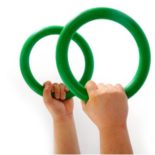 Hot sale for ring gym for kids ABS gym rings