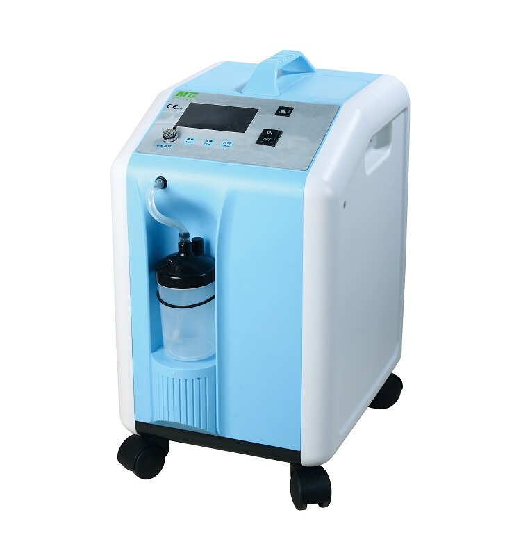 China MIC electrical flowmeter mini portable oxygen concentrator breathing machine manufacturer