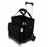 Ice cooler bag with wheels, custom trolley insulated cooler bag,picnic wine cooler bag