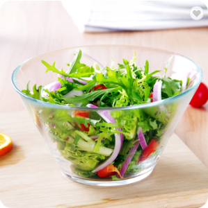Chinese supplier FDA clear salad glass bowl for tableware