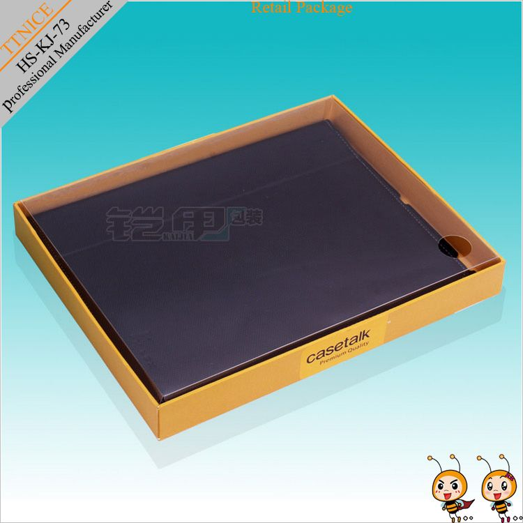 hanging retail packaging,kraft paper packaging for ipad case with lid