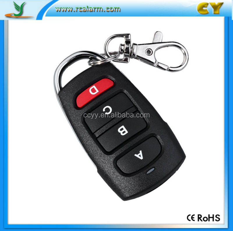 Keyless entry codes universal remote control rohs CY084