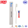 Disposable PP Bristle Toothbrush And Mini Toothpaste Wholesale