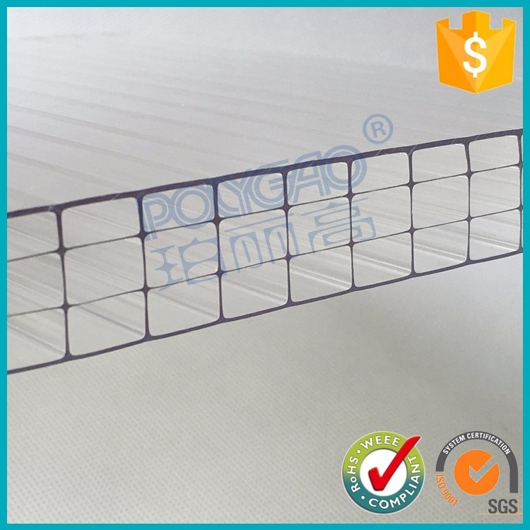 Wholesale products pc four wall hollow sheet cellular plastic sheet