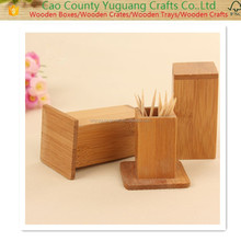 2016 Toothpick Storage Boxes Wooden Toothpick Holder