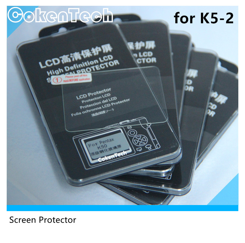 High transparent camera lcd screen protector for K5-2