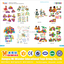 European standard direct factory price 2016 popular Safety material plastic and wooden educational toys for kids
