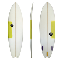 Wholesale Fish Tail decoration shortboard surfboard Resin Surf Board with surf fins