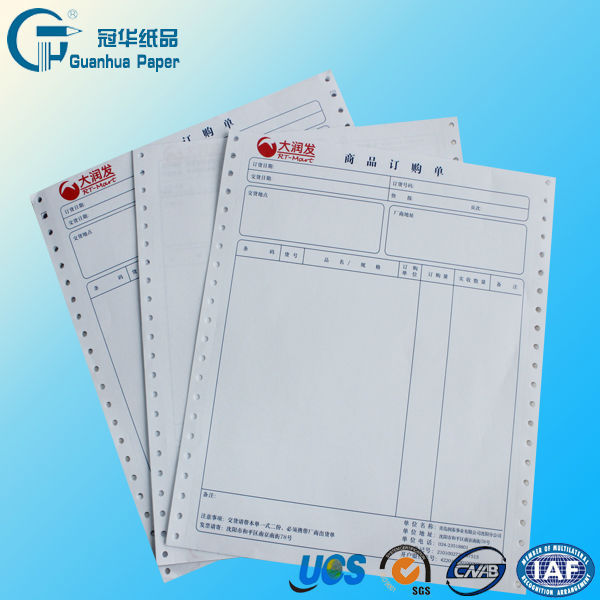hot sale continuous printing paper/ copy paper